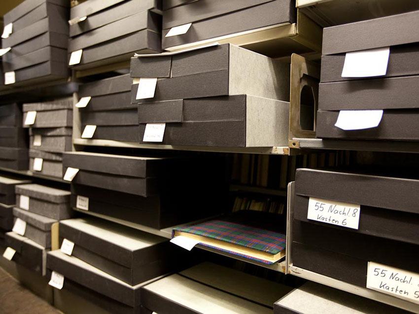 Stabi, Musikbibliothek, Depot